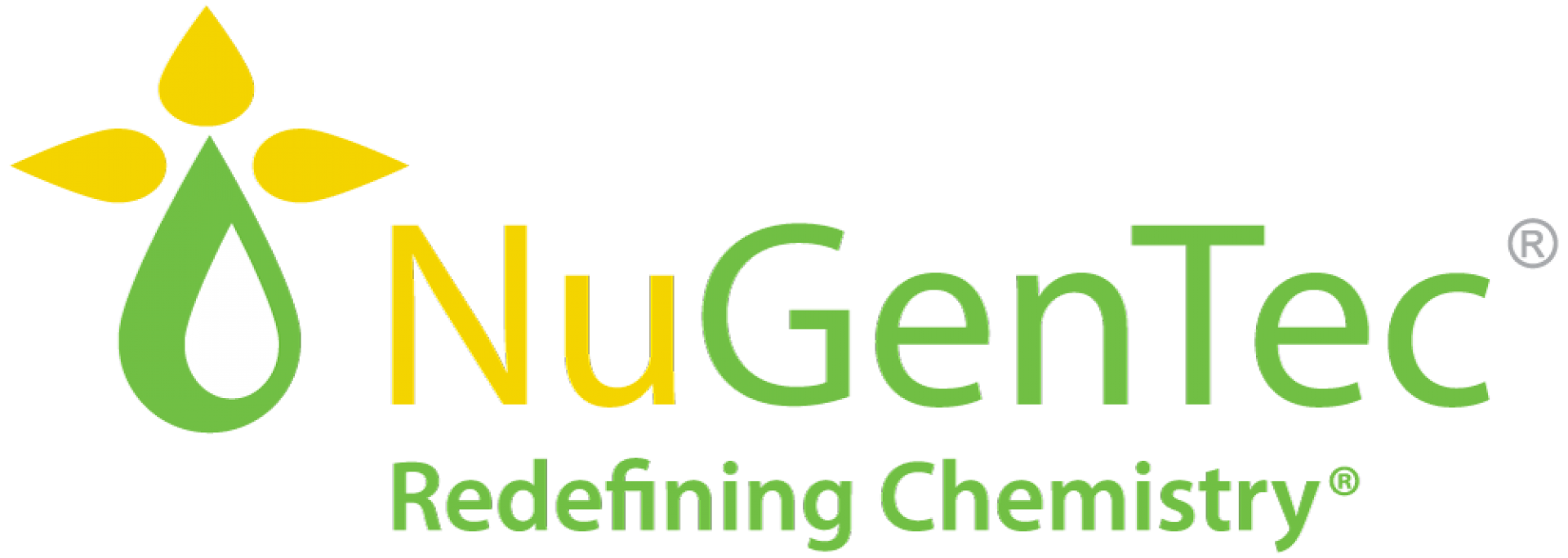 NuGenTec Logo with Slogan - Redefining Chemistry