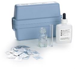 Field test kit for titration concentration control